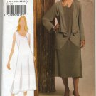 Vogue 8474 Jacket Dress Vogue Woman Easy Sewing Pattern Misses' 16 18 20 22 24 Office Weekend Casual