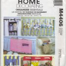 McCall's 4406 Caddies & Organizers Home Decorating Essentials Sewing Pattern Garden Bed Chair Crib