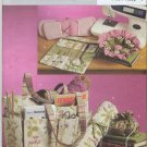 Butterick 5006 Sewing & Knitting Tote & Accessories Sewing Pattern Needles Crochet Hook Case Caddy