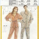 Burda 5592 Men's & Misses' Lounging Pajamas Sewing Pattern