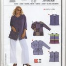 Burda 8105 Blouse & Jacket Very Easy Sewing Pattern Plus Size 18 20 22 24 26 28 30 32
