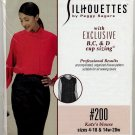 Silhouettes 200 - Kate's Blouse / B C D-Cup Sizing - Sewing Pattern - Misses' 4-18 & Women's 14w-28w