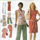 Simplicity 4190 Dress Tunic Belt Pants Bag Sewing Pattern Women's 20W 22W 24W 26W 28W Karen Z Design