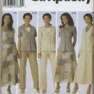 Simplicity 5104 Top Jacket Pants Skirt Cut/Uncut Wardrobe Sewing Pattern Women's 20W 22W 24W 26W 28W