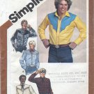 Simplicity 9886 Men's Western Shirts Scarf & Tie Sewing Pattern Neck 17 Chest 46 Transfer NOT Incl'd
