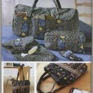 Simplicity 5025 Bags & Accessories Sewing Pattern - Duffle Tote Eyeglass Case Shoe Carrier