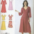Simplicity 3827 Dresses - B C D-Cup - - Sewing Pattern Women's 20W 22W 24W 26W 28W 6-Gore V-Neck