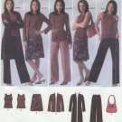Simplicity 4503 Top Cardigan Pants Skirt Bag - Sewing Pattern Women's 20W-28W Easy Wardrobe Builder