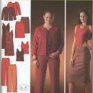 Simplicity 4093 Top Dress Pants Skirt Jacket Sewing Pattern Women's 20W 22W 24W 26W 28W Sleek Looks