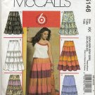 McCall's 5146 Skirts in Two Lengths - - Sewing Pattern Women's 26W 28W 30W 32W