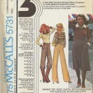 McCall's 5731 Top Skirt Pants Dickey Cuffs - New: 3 Size Sewing Pattern Series - Misses' 8 10 12