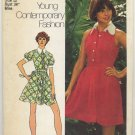 "Simplicity 5617 Dress in Two Lengths - Sewing Pattern Miss Size 12 Bust 34"" Sweet 70s Cool"