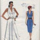 Vogue 9863 Dress - (Cut) Very Easy Sewing Pattern - Misses' 12-14 - Alternate 1980s Look