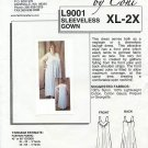 Fashion Patterns L9001 Sleeveless Gown - - A Connie Crawford Early Sewing Pattern Size XL-2X