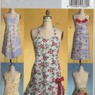 Butterick 4945 Aprons - Five Retro Vibe Variations - Sewing Pattern - Sm-Med-Lg Misses' 8-18