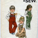 Kwik Sew 1116 Toddlers' Bib Pants (Cut) Sewing Pattern Sizes T1 & T2