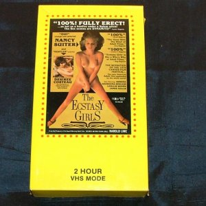 The Ecstasy Girls  VHS 1979