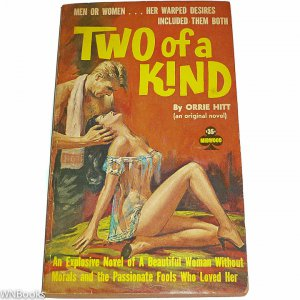 Two of a Kind (Midwood No. 45) by Orrie Hitt