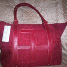 Tommy Hilfiger TH Large Nylon Logo Print Tote Bag in Red