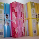 Twin Pack of Large Fabric Covered Photo Albums in Yellow