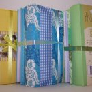 Twin Pack of Medium Fabric Covered Photo Albums in Green
