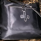Etienne Aigner Kaleidoscope Collection Shopper Style Shoulder Bag in Black