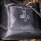 Etienne Aigner Kaleidoscope Collection Shopper Style Shoulder Bag in Black