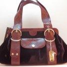 DKNY Runway Velvet Framed Handbag in Orchid