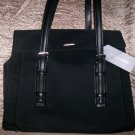 Francesco Biasia Nero Business Tote Organizer Handbag in Black