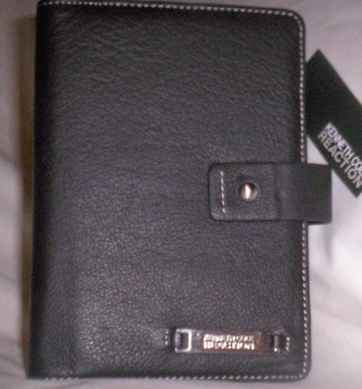Kenneth Cole Reaction Leather Day Planner/Agneda Wallet in Brown