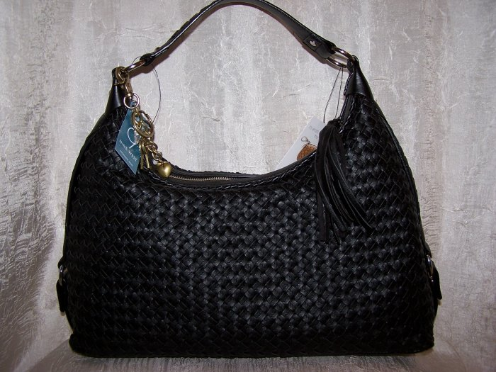 Nine West Dreamweaver Wovens 2 Hobo in Black