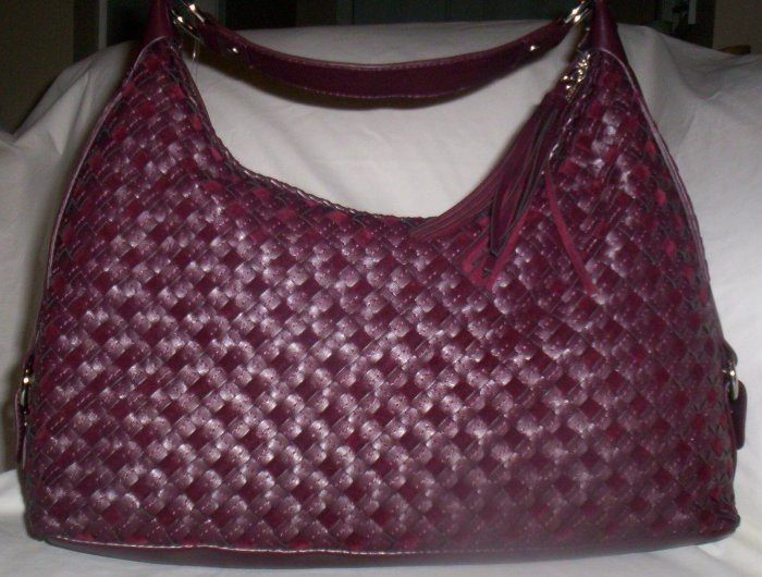 Nine West Dreamweaver Wovens 2 Hobo in Wine