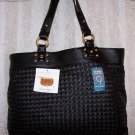 Nine West Dreamweaver Wovens Shoulder Bag Tote in Black