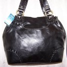 Nine West Legends Bucket Tote Shoulder Bag in Black