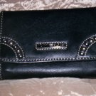Tommy Hilfiger New Picture That Black Leather French Purse Wallet