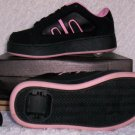 Air Skate Brand Heelies / Wheelies in Pink/Black Size 3