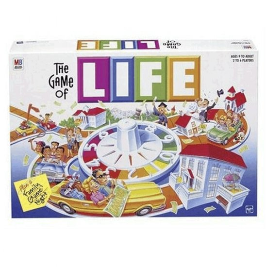 Milton Bradley Game of Life Board Game