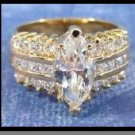Sparkling Marquise Guaranteed Wedding Ring
