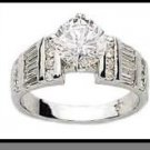 Stunning Russian CZ Wedding Ring Guaranteed