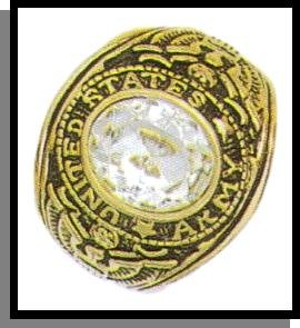 Imitation Diamond Army Ring Guaranteed