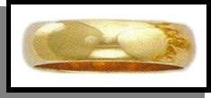 5 mm Wedding Band Gold Or Rhodium
