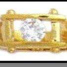 Unusual Design Russian CZ Ring Guaranteed