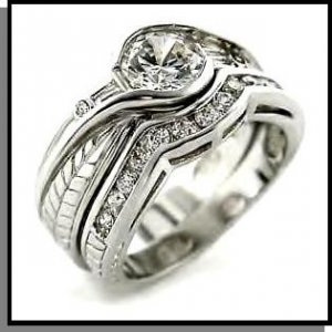 Christina's Stunning Replica Wedding Ring Set