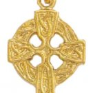 Medieval Motif Celtic Cross Pendant