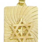 Large Double Star of David Pendant