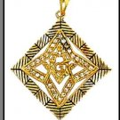 Decorative Freemason Masonic Pendant
