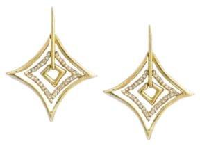 Fashion Statement CZ Earrings