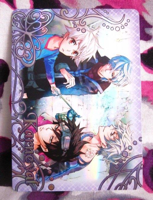 Karneval Trading Card - SP-19 - Nai, Yogi, Gareki, & Karoku