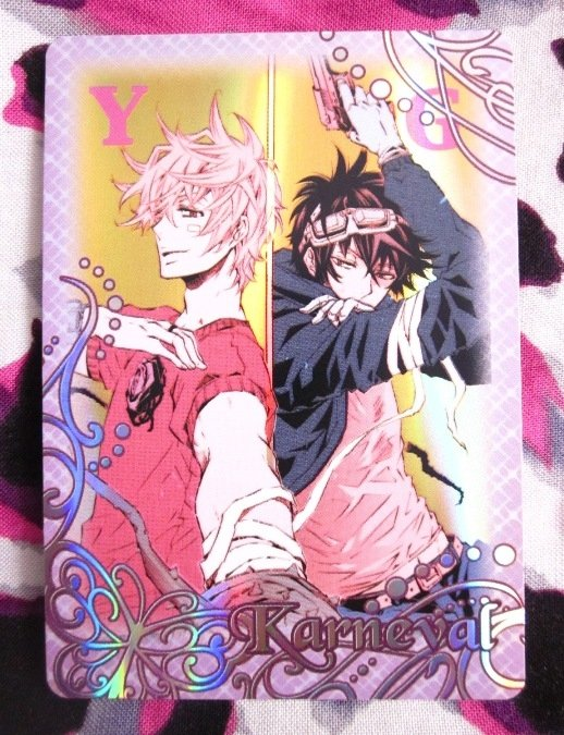 Karneval Trading Card - SP-12 - Yogi & Gareki