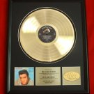 "ELVIS PRESLEY GOLD RECORD AWARD ""LOVING YOU"""